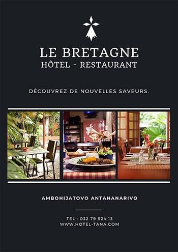 Hôte restaurant Le Bretagne Tana