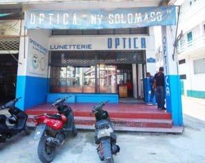 Opticien Tamatave OPTICA NY SOLOMASO