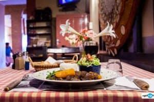 Bœuf carotte à l'Hôtel le Bretagne à Tananarive
