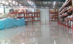 Sol résine Époxy revêtement industriel Madagascar EMCI