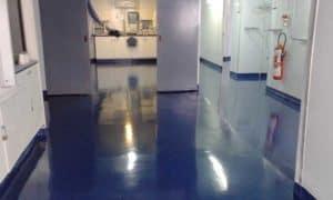 Sol souple industriel hôpital Madagcascar EMCI