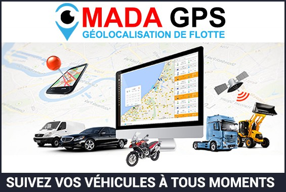 MADA GPS fleet geolocation