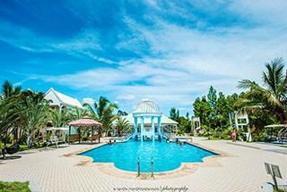 Hôtel La Silhouette de l'Est, bungalow piscine restaurant