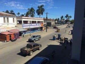 vue Hôtel l'ÉTAPE centre ville Tamatave
