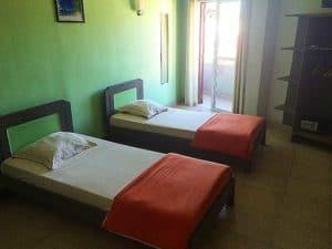 Chambre double Hôtel l'Étape Centre ville Toamasina