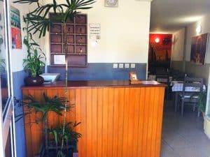 réception Hôtel l'Étape Centre ville Toamasina