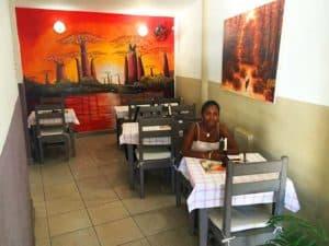 petits déjeuners Hôtel l'ÉTAPE centre ville Tamatave