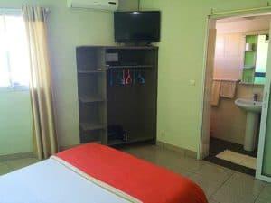 chambre Hôtel l'ÉTAPE centre ville Tamatave