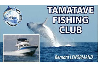 Pêche au gros sorte Baleine Tamatave Fishing Club