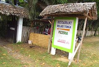 Pizzeria restaurant Foulpointe Relais Tonga