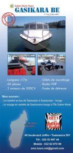 Transfert bateau Tamatave à Ste Marie Sainte-Marie-Tours