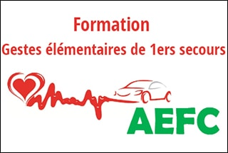 Formation gestes de premiers secours auto-école AEFC St-Benoît