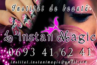 Beauty salon L'Instant Magic Piton St-Leu