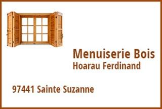 Menuiserie bois Hoarau Ferdinand Ste-Suzanne