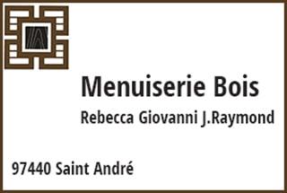 Menuiserie Bois Rébecca St-André