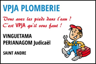 Plombier VPJA St-André 974