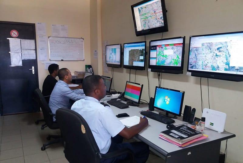 Sécurité par Géolocalisation de véhicules Madagascar ADESS SA