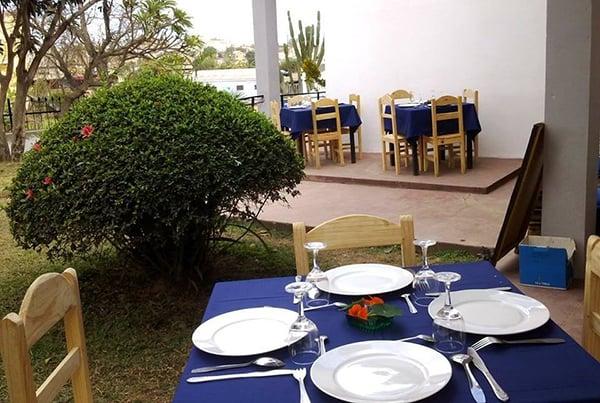 Ibiza Café restaurant de la Villa Mahefa Antananarivo