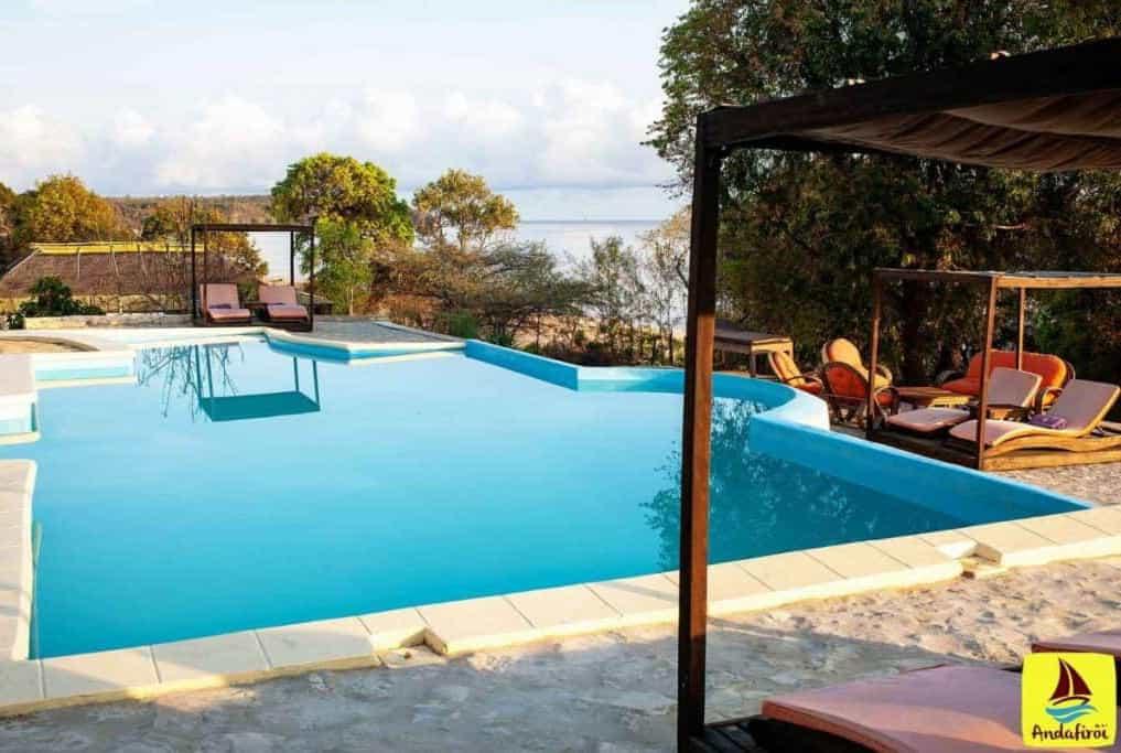 Andafirôï Lodge Hôtel Chambre Nature Restaurant Piscine Katsepy Majunga Mada