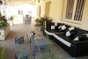 Terrasse Appartements meublés Chez Joesph Antananarivo Madagascar