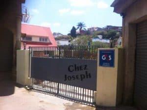 Entrée Chez Joseph Appart Hôtel Antananarivo Madagascar