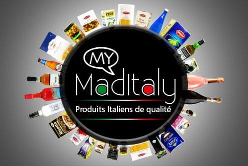 Produits alimentaires et vêtements italiens MADITALY