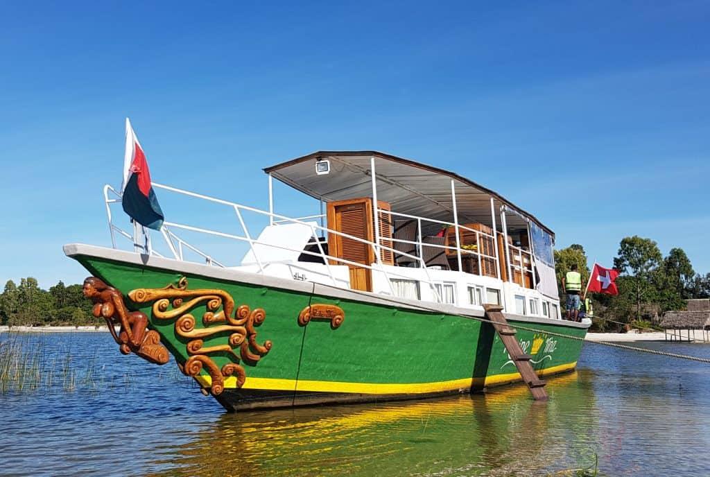 Bateau Hôtel Pangalanes La Reine Tina Toamasina Madagasikara