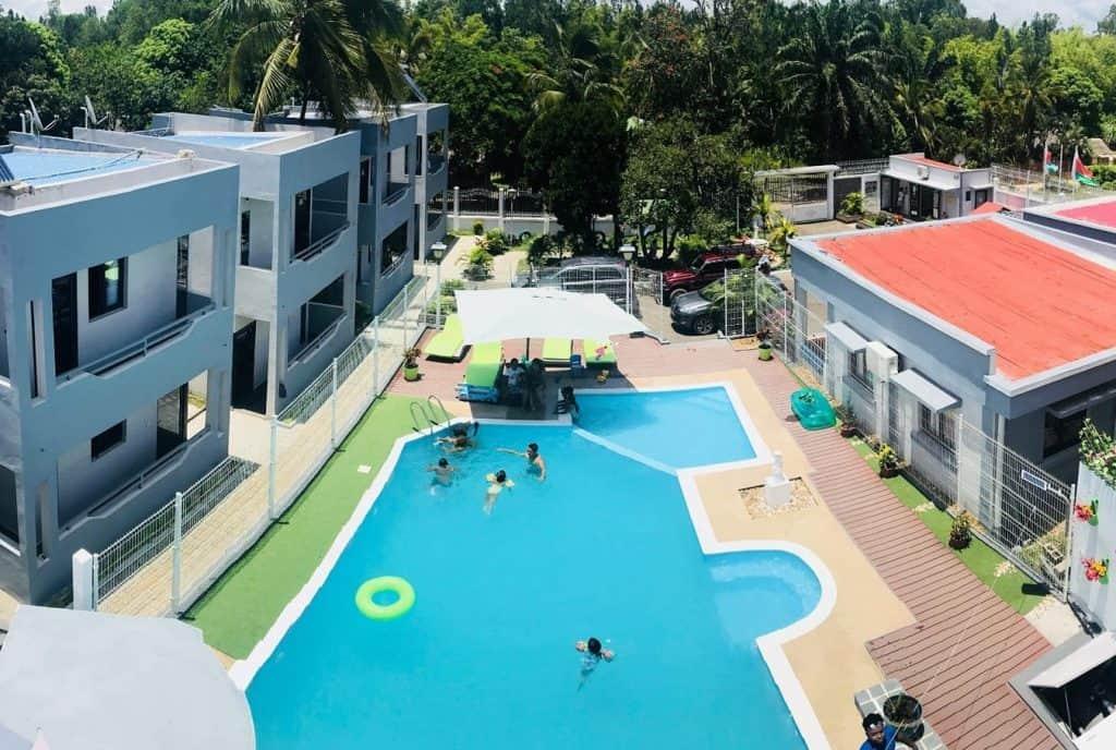 Sammis Lodge Hôtel Piscine Bar Jacuzzi Foulpointe Madagascar