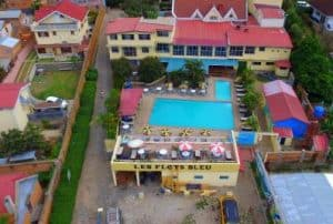 Les Flots Bleus Hôtel Chambres Appartements Tana Madagascar