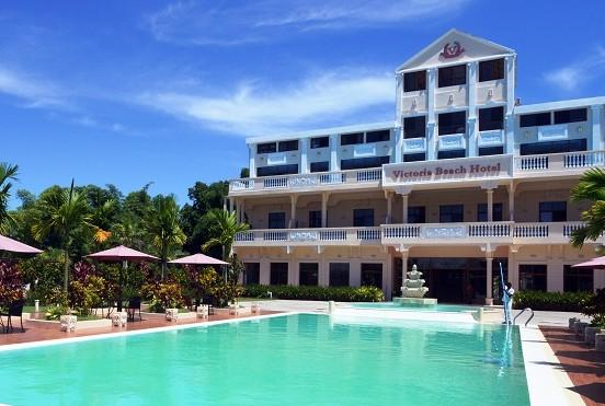Victoria Beach Hôtel Piscine Tamatave Madagascar 2