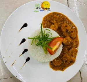 New Park Resort Restaurant Cuisine Malgache Eurasienne Majunga Madagascar
