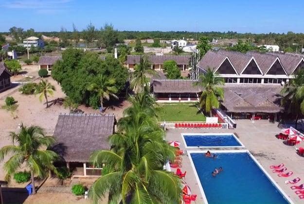 Zahamotel Hôtel 3 étoiles Bungalows Chambres Restaurant Majunga Madagascar