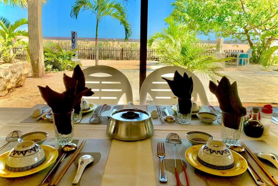 Chez Karon Restaurant Bar Bord De Mer Majunga Madagascar