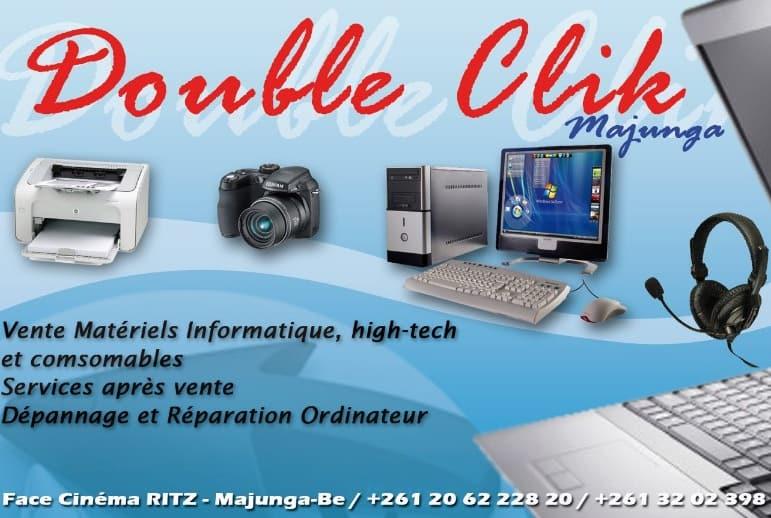 Double Clik Vente Matériels Informatiques Techonologie Majunga Madagascar