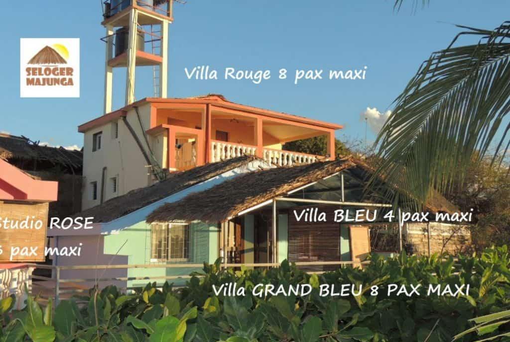 Résidence De Vacances Bako Bungalows Appartements Studio Majunga Madagascar