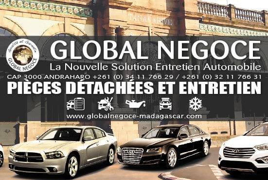 Global Négoce Garage Entretien véhicule Pièces Auto Antananarivo Madagascar