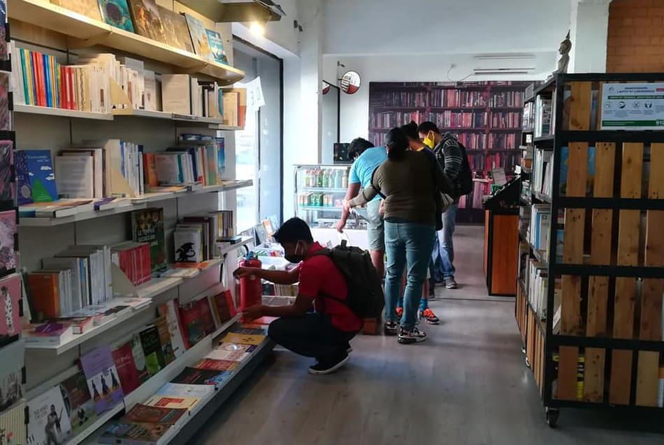 Mille Feuilles Librairie Café Lecture livre Antananarivo Madagascar