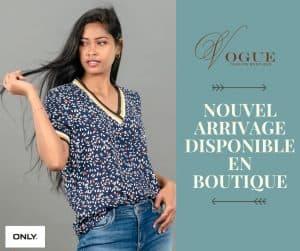 Vogue Fashion Boutique Habillement Tendance Tana Madagascar