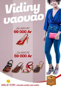 Aigle D'Or Boutique Chaussure Sandale Cuir Tana Madagascar