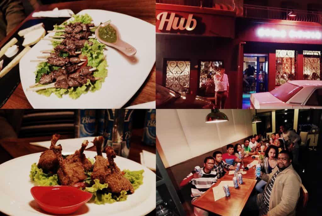 Le Hub World Citizen Pub Bar Restaurant Discothéque Tana Mada