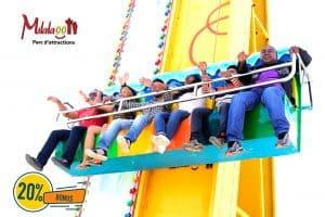 Milalaoo Parc D'attraction Jeu Manège Tananarive Mada
