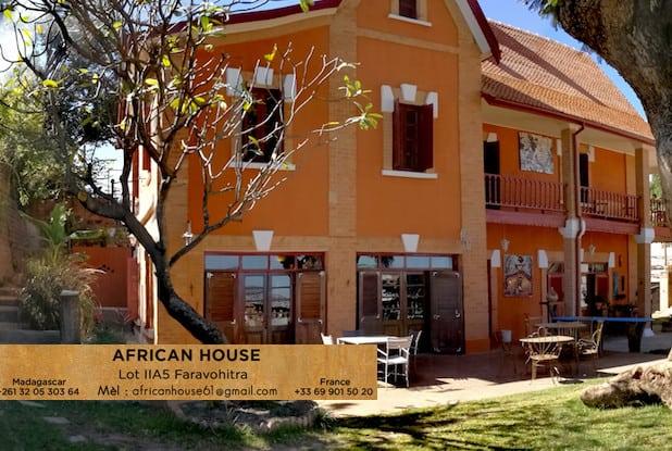 African House Chambre Dhôtes Accueil échange Culture Africaine Souvenirs Tana Madagascar