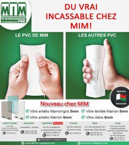 MIM Boutique Menuiserie PVC Qualité Haut De Gamme Tananarive Mada
